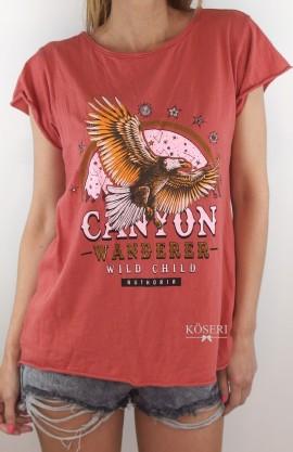 CAMISETA CANYON GRANATE
